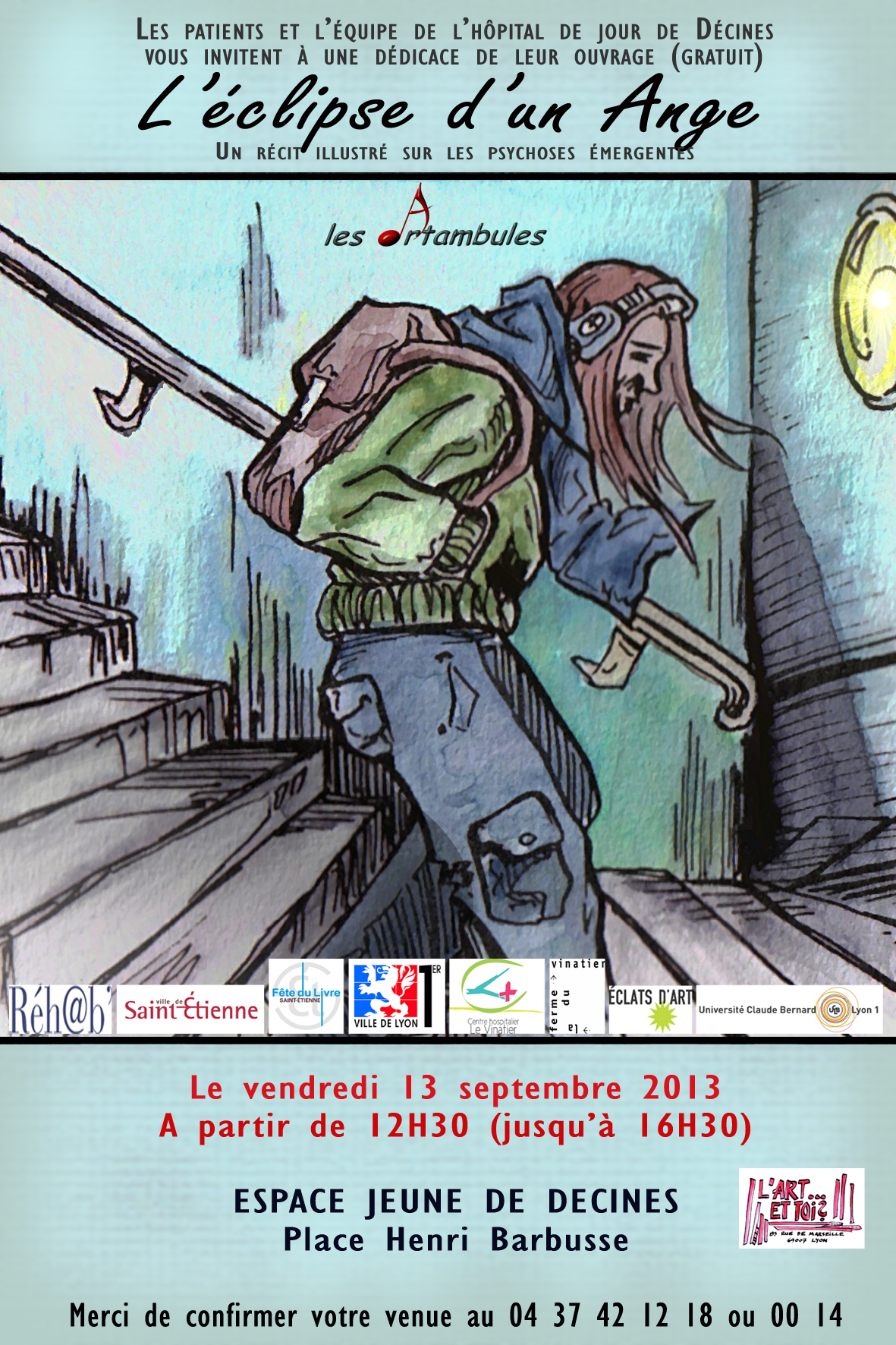 Annonce dédicace 13 septembre
